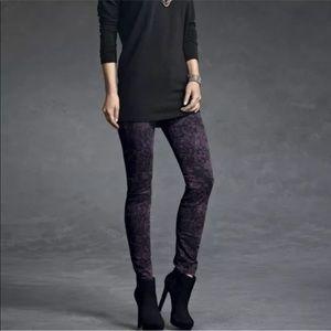 Cabi Women's Twilight Purple Camo Pants Size 6